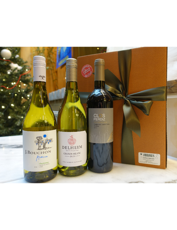 World Wines 3x75cl Gift Box