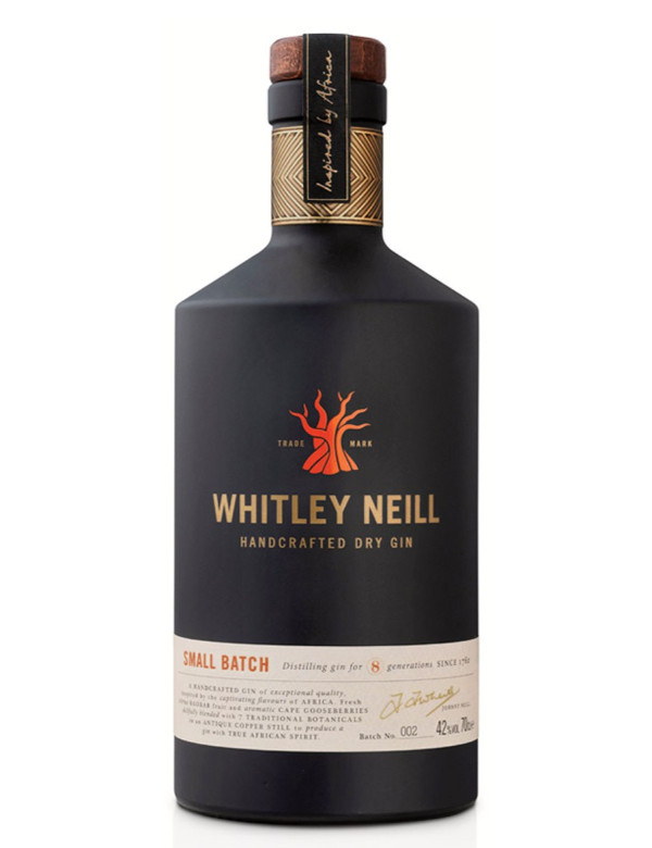 Whitley Neill Dry Gin 42% 0,7