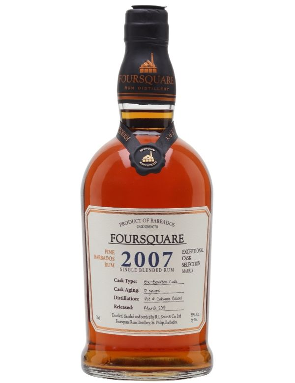 Foursquare 2007 Cask Collection Cask Strength 70cl 59%