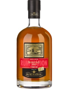 Rum Nation Trinidad 5y Limited edition 46% 70cl.