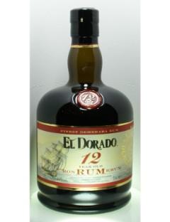 El Dorado Rum 12 Years  Guyana 40% 70cl