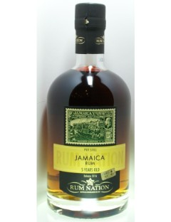 Rum Nation Jamaica 5y sherry finish 50% 70cl