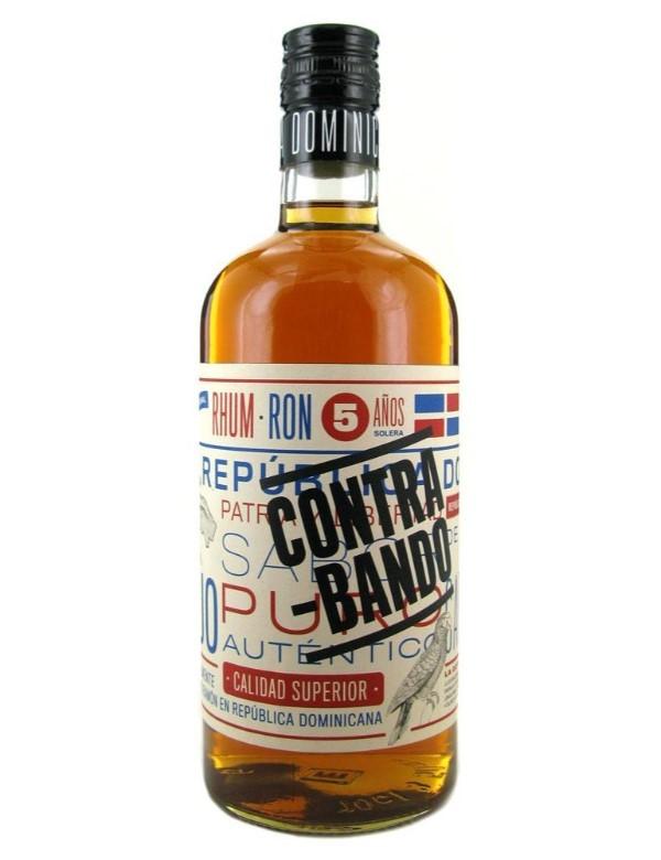 Contra-Bando Domican Dark Rum 5Y 38% 0.7 Promo