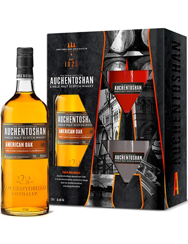 Auchentoshan American Oak Mixology Pack 70cl 40%