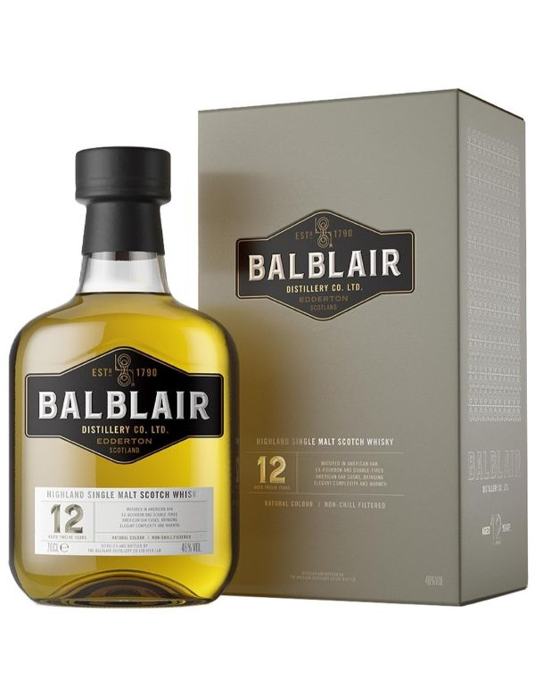 Balblair 12 Years single malt 46% 70cl