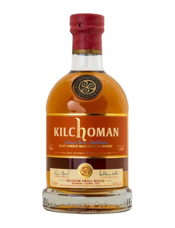 Kilchoman Small Batch for Belgium N2 48,4% 70cl