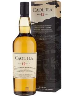 Caol Ila 12 y Single Malt 43% 70cl