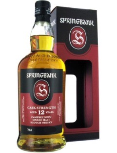 Springbank 12 y Cask Strenght 55,4% 70cl