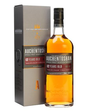 Auchentoshan 12y Triple Distilled 40% 70cl