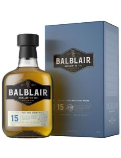 Balblair 15 Years single malt 46% 70cl