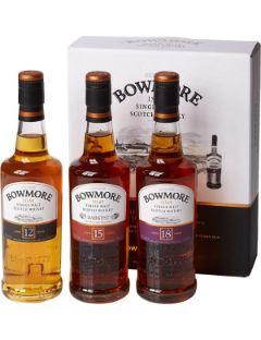 Bowmore Gift Pack 3x20cl 12y-15y-18y.