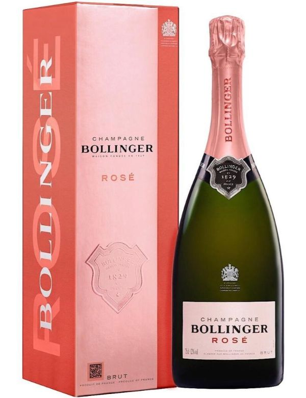 Bollinger  Champagne Rose giftbox 75cl