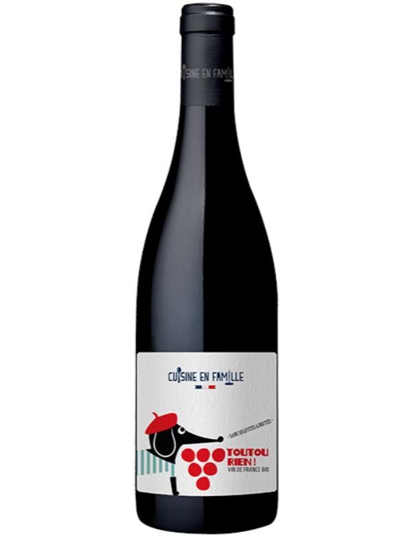 Toutou Rien Vin de France Nature 2020 75cl